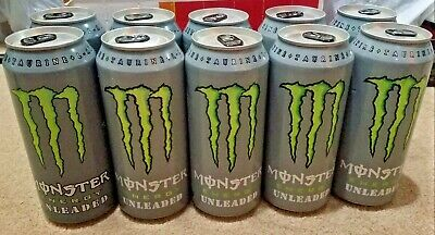 Monster Energy Unleaded Discontinued Very Rare Full Can Monster Energy Drink