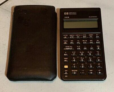 HP 10B Financial Calculator Hewlett Packard Business Accounting Finance