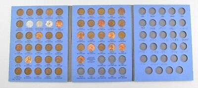 Complete 1941-58 Lincoln Wheat Cent Set - Includes 1943 Steel Cents! *034