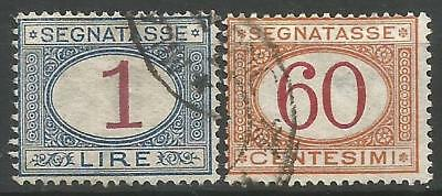 Italy. Two Postage Dues Used