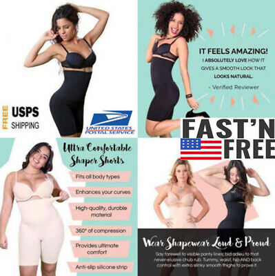 3b3f2db3d142d Shapermint Empetua All Day Every Day High-Waisted Shorts Pants Women Body  Shaper