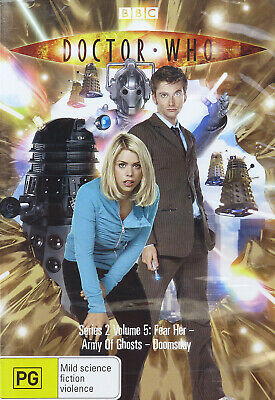 Doctor Who (S2 Vol 5: Fear Her-Army of Ghosts-Doomsday) (2006, Region 4) - NEW