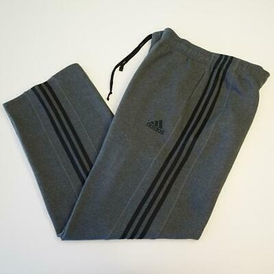 c6f13059 Mens Adidas Clima Warm Gray Joggers Warm Up Gym Workout Sweat Pants Size  2XL XXL