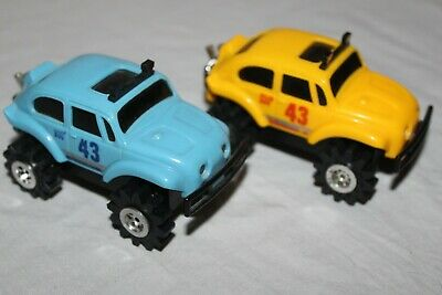 Stompers 2 Bug Lot Or Set From The 1980S Working Great W/ Lights Really Nice