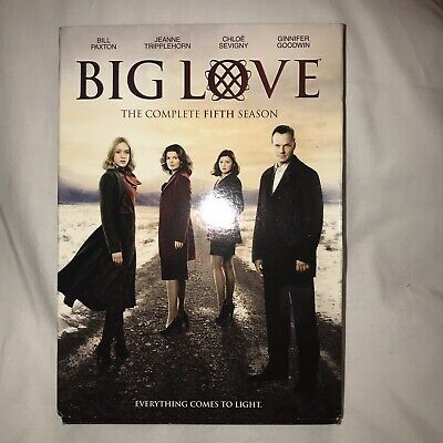 Big Love: The Complete Fifth Season (DVD, 2011, 4-Disc Set) HBO Watched Once