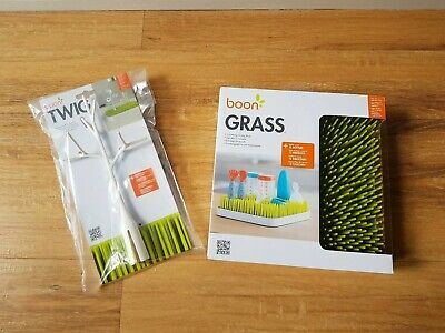 Boon Grass & Twig baby bottle drying rack and accessory bulk set