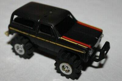 Stompers Black Chevy Blazer Vintage 1980S  Working Great No Lights