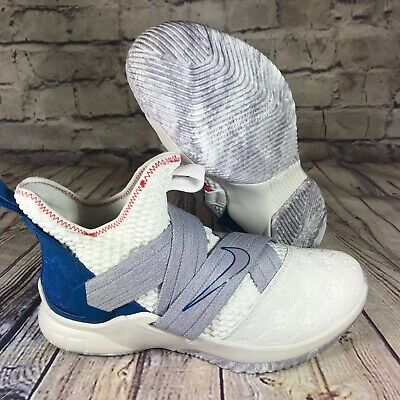 cbbd5d60dfb NIKE LEBRON SOLDIER XII 12 Mens Basketball Shoes Summit White AO2609 ...