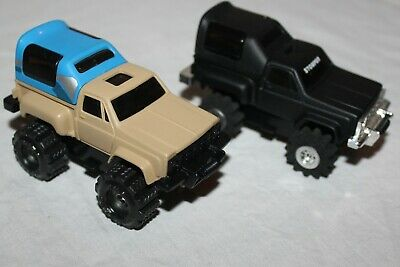 Stompers Lot Of 2 Custom Painted Trucks From The 1980S Working Great