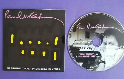 Paul McCartney CD single Colombia promo Dance Tonight 2 track Ever present past