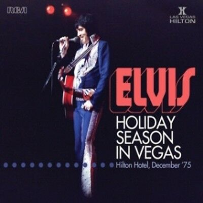 Elvis Presley - HOLIDAY SEASON IN VEGAS - FTD 2x CD - New & Sealed