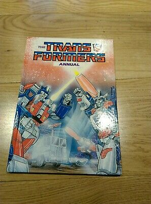 Transformers 1987 Vintage Official Annual Book Hardback Like New!