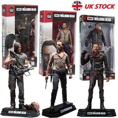 The Walking Dead Action Figure Season 7 Daryl Negan Rick Boxed Kids Toy Gift