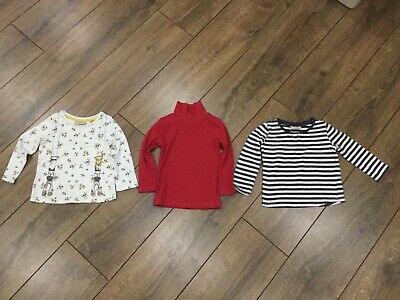 Baby Girl Long Sleeve Tops Bundle From Next Size 9-12 Months
