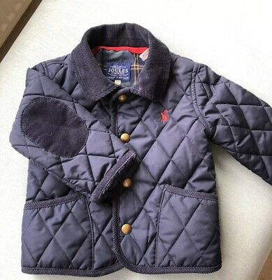 Joules Boys Quilted Jacket 12-18 Months
