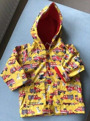 Hatley Red & Yellow PVC Jacket 12-18 Months