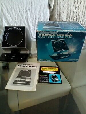 Vintage Grandstand Astro Wars games console 1981 with Box & Instructions