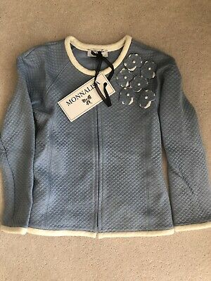 Monnalisa Powder Blue Girls Summer Jacket Age 5