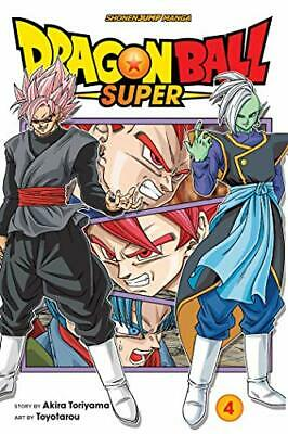 Dragon Ball Super, Vol. 4 by Akira Toriyama New Paperback Book