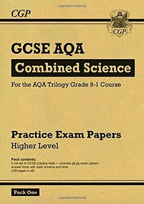 New Grade 9-1 GCSE Combined Science AQA Practice by CGP Books New Paperback Book