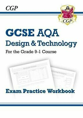 New Grade 9-1 GCSE Design & Technology AQA Exam  by CGP Books New Paperback Book