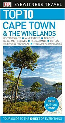 Top 10 Cape Town and the Winelands (DK Eyewitnes by DK Travel New Paperback Book