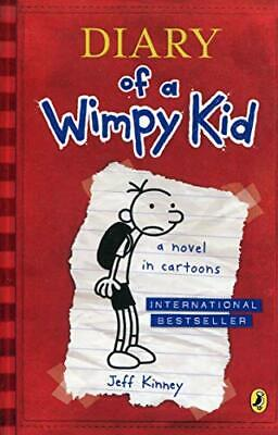 Diary of a Wimpy Kid (Book 1) by Jeff Kinney New Paperback Book