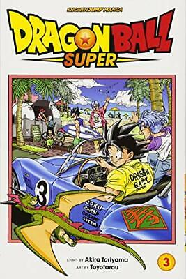 Dragon Ball Super, Vol. 3 by Akira Toriyama New Paperback Book