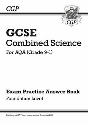 New GCSE Combined Science: AQA Answers (for Exam by CGP Books New Paperback Book