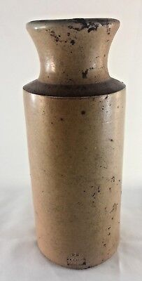 Doulton Lambeth Antique Stoneware Ink Bottle 82