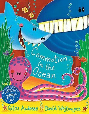 Commotion In The Ocean by Giles Andreae New Paperback Book
