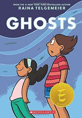 Ghosts by Raina Telgemeier New Paperback Book