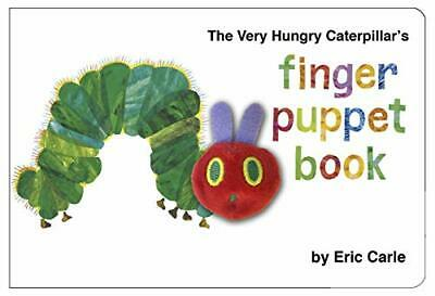 The Very Hungry Caterpillar Finger Puppet Book by Eric Carle New Hardcover Book