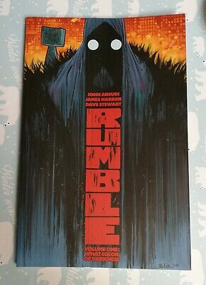 RUMBLE - VOLUME 1 WHAT COLOR OF DARKNESS GRAPHIC NOVEL Collects (2014) #1-5