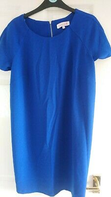 Gorgeous Bright Blue Size 10 Maternity Dress Red Herring