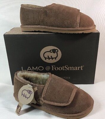 73059f73ef395 NEW LAMO FOOTWEAR WRAP BOOTIE SLIPPERS CHESTNUT SUEDE MENS Large ...