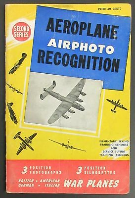 1944 Aeroplane Airphoto Recognition Book - 2nd series - flying training schools