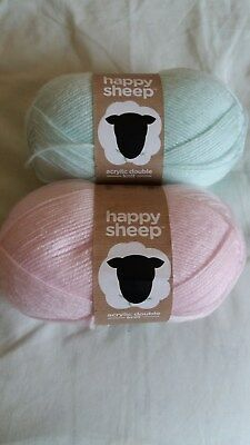 2 Ball Happy Sheep Dk   ( Different Shades)
