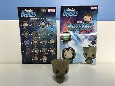 Brand New Funko Pop Pint Size Guardians Of The Galaxy Vol. 2 Baby Groot Figure