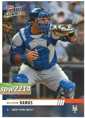 2019 Topps Now Road to Opening Day Wilson Ramos (from Mets team set)