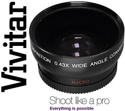 HD WIDE ANGLE  WITH MACRO LENS FOR CANON EOS M EF-M 18-55mm STM KIT