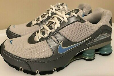 8190d12f513 Nike SHOX Women s size 9 White Blue Silver 2007 pair barely worn excellent  cond.