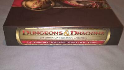 Dungeons & Dragons - 4th Edition Core Rulebook Collection