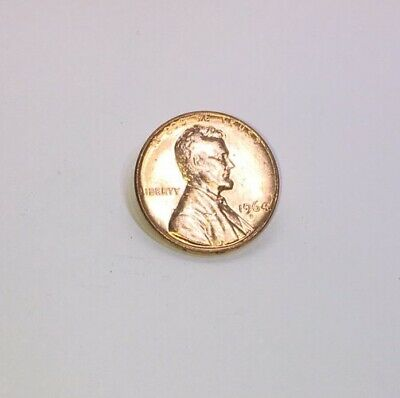 1964-D  Lincoln Memorial Small Cent Uncirculated Bright Red