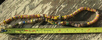 Old Venetian - African Trade Bead String. Antique Millefiori Estate Find...#3