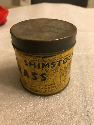 VINTAGE USAFOIL SHIMSTOCK BRASS. Lots Of Shim Inside