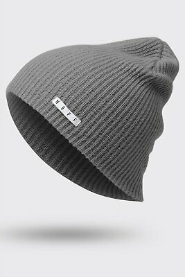 d61b6797861 UNISEX MENS NEFF Grey Daily Beanie Winter Knit Hat New -  11.99 ...