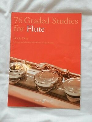 76 graded studies for Flute Book 1 in excellent condition