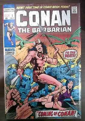 Conan The Barbarian Original Marvel Years Omnibus Vol 1 Dm Variant Cover Sealed