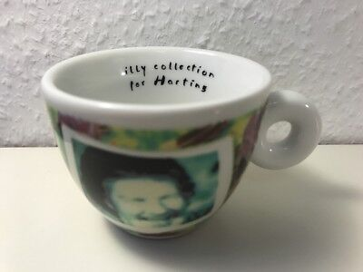 """illy Collection for HARTING """"Videogrammi"""" by NAm JUNE PAIK, 1 Espressocup, NEU!"""